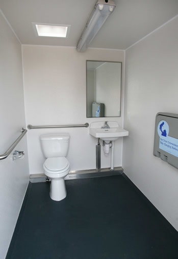 Advantage Wheelchair Accessible washroom