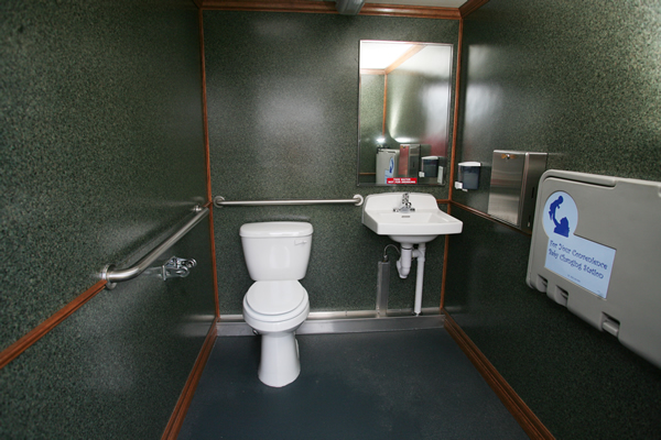 Presidential Wheelchair Accessible/Family Washroom