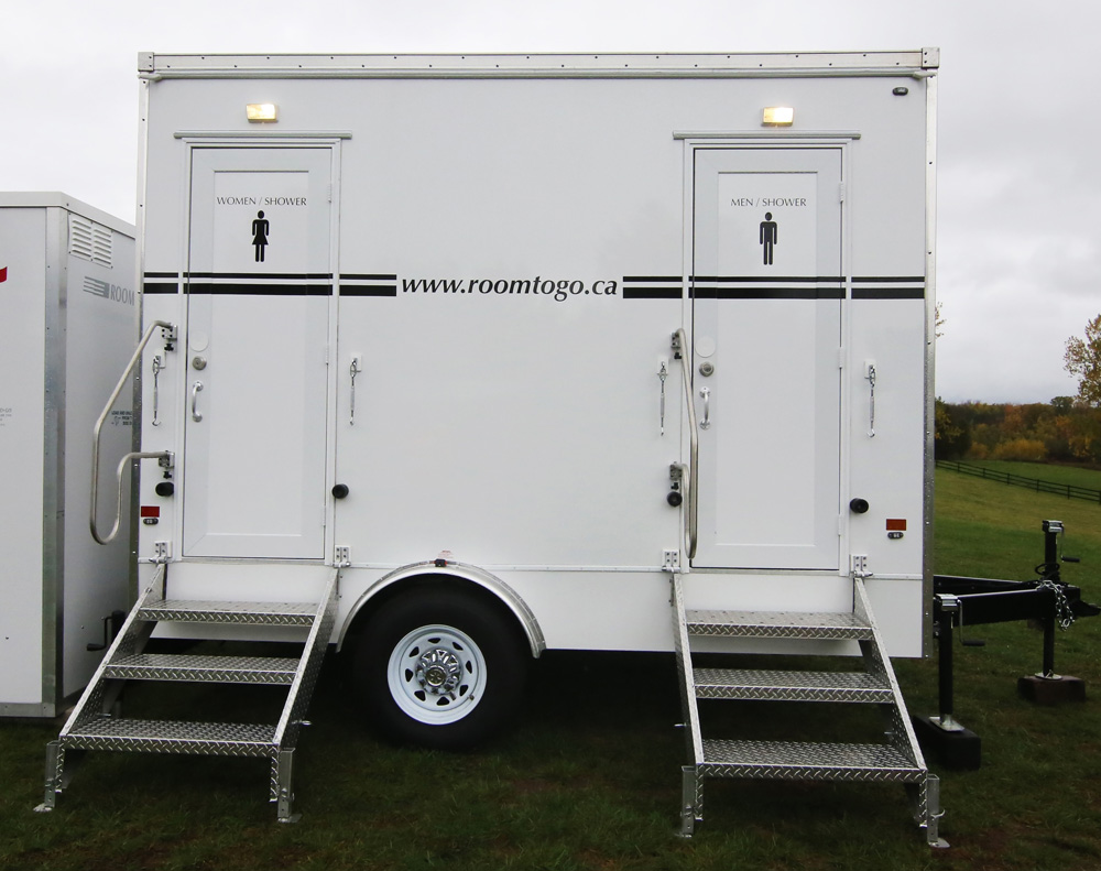 Double Shower Trailer